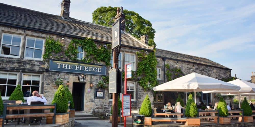 REVIEW The Fleece Pub in Addingham West Yorkshire 02