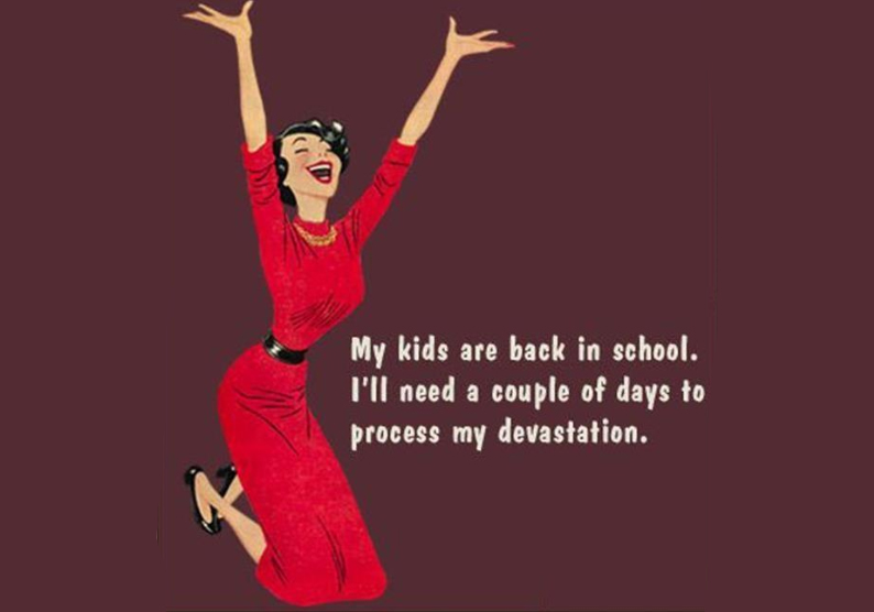PARENTING | Driving me mental. Why the end of the school holidays can't come soon enough for me