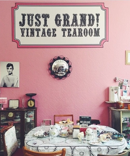 RECOMMENDATION Just Grand Vintage Tearoom in Leeds 2