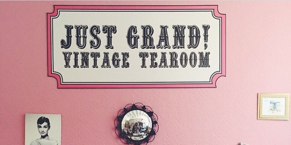 RECOMMENDATION Just Grand Vintage Tearoom in Leeds 4