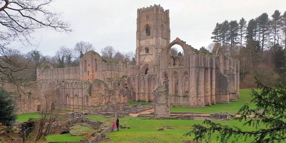 KID FRIENDLY WALK   Fountains Abbey Studley Royal – North Yorkshire
