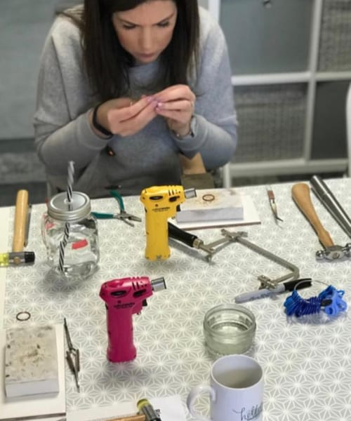 REVIEW Jewellery Making Course Yorkshire 1
