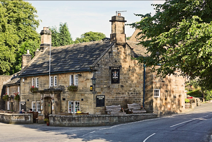 Devonshire Arms Beeley facade