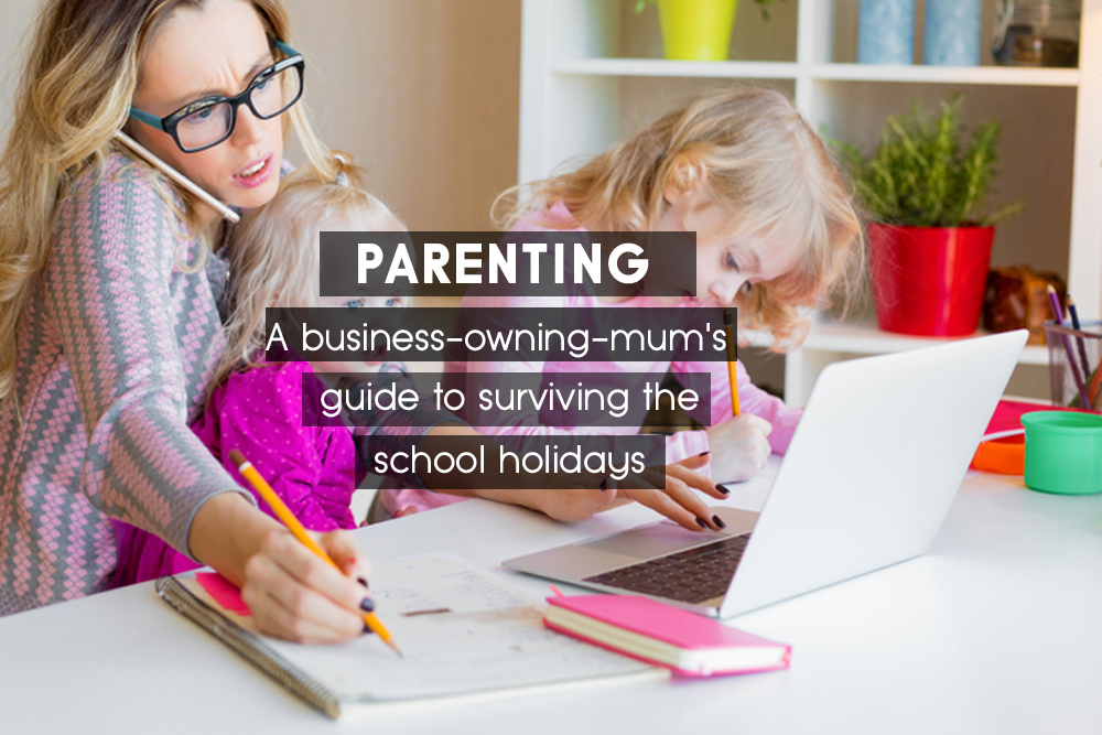 A business-owning-mum's guide to surviving the school holidays