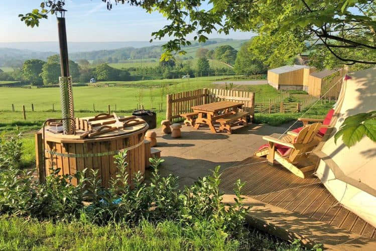 Catgill Camp glamping UK
