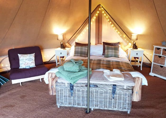 glamping Yorkshire