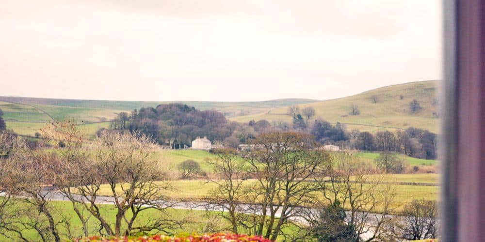 REVIEW A lovely late lunch at The Devonshire Fell Hotel Yorkshire Dales 011