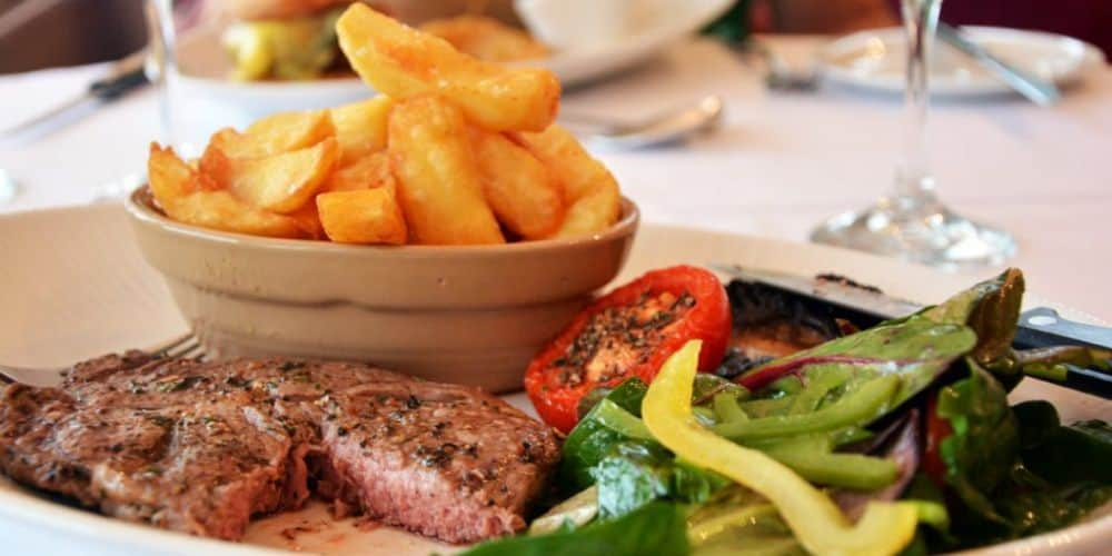 REVIEW A lovely late lunch at The Devonshire Fell Hotel Yorkshire Dales 06