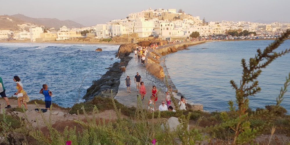 Naxos with kids