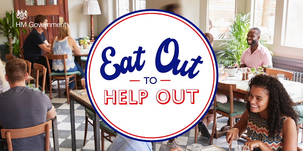 Eat Out to Help Out - it's your last week to enjoy this discount scheme 24