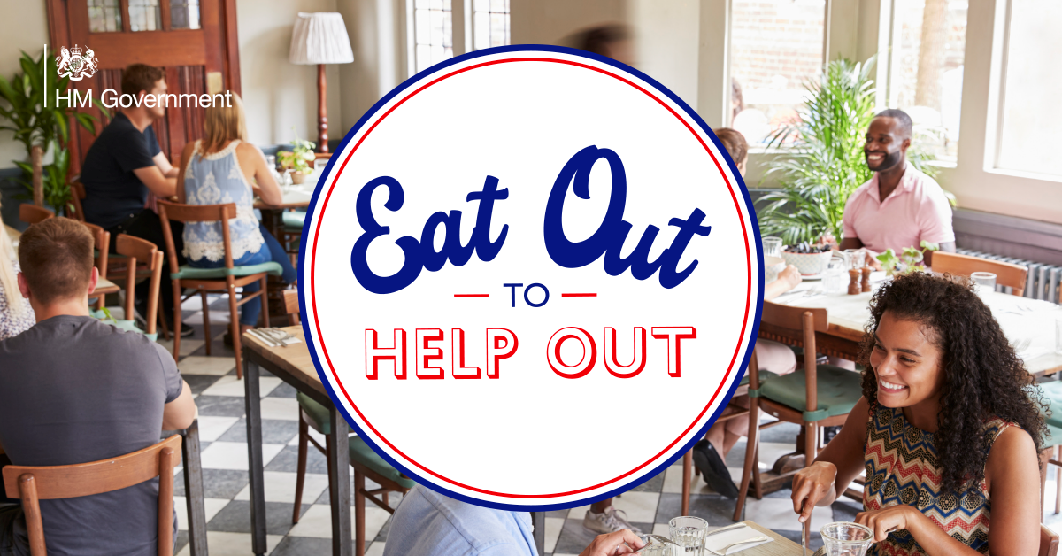 Making Eat Out to Help Out easy - London 90