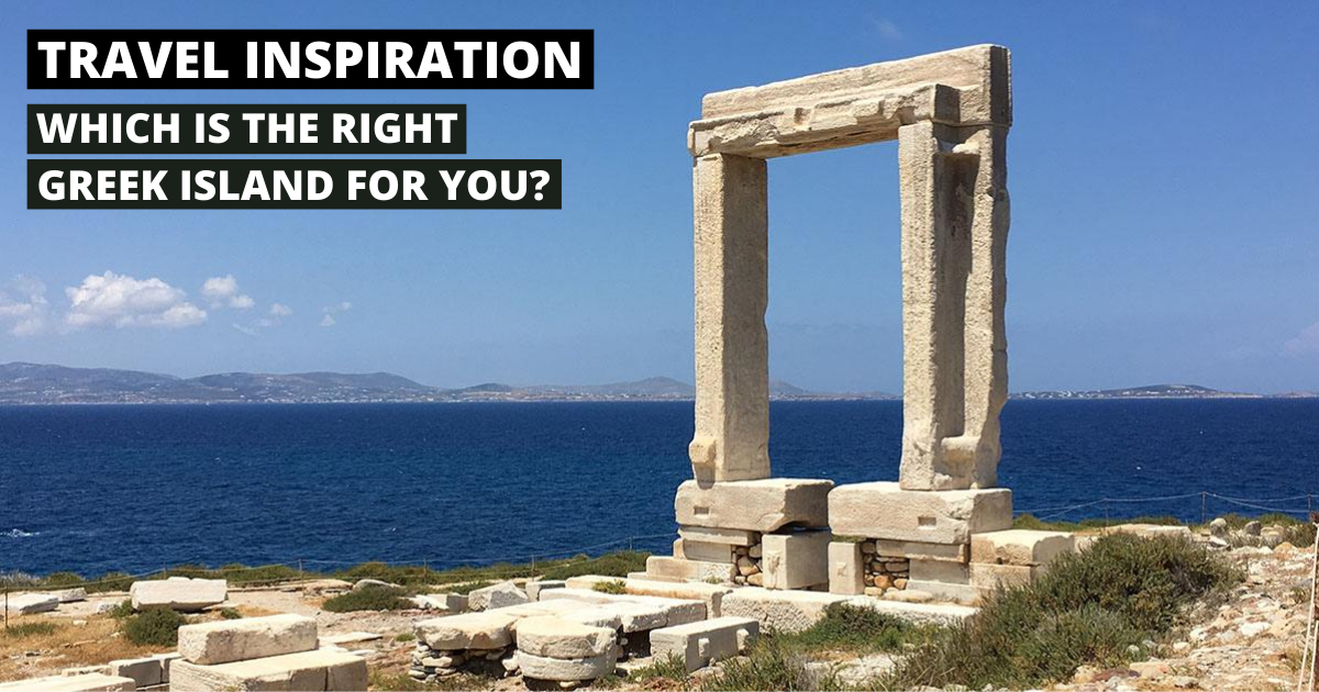 Which is the right Greek island for you and your family? 93