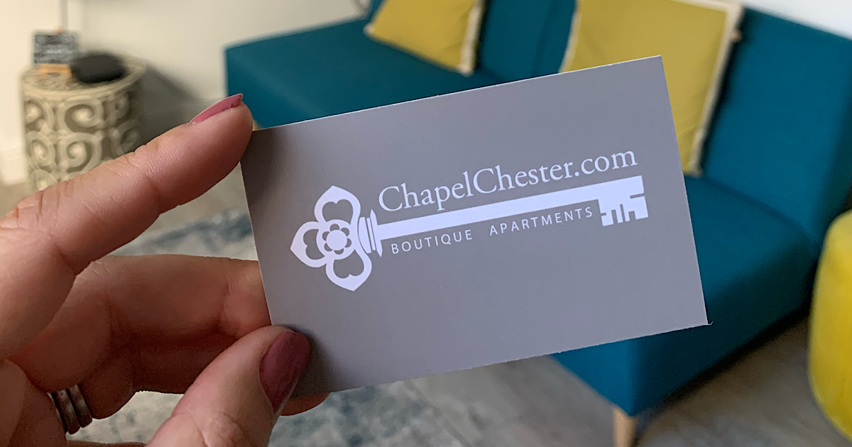 RECOMMENDATION | Chapel Chester Luxury Boutique Apartments 98