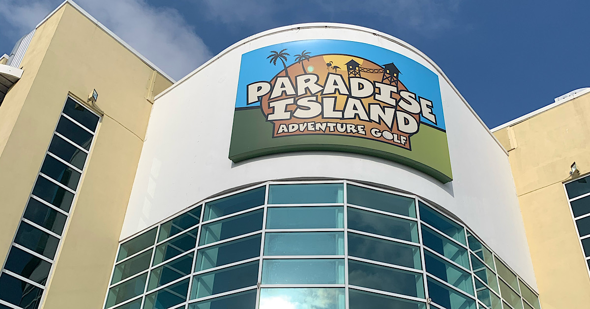 REVIEW | Paradise Island Adventure Golf, Cheshire Oaks 1