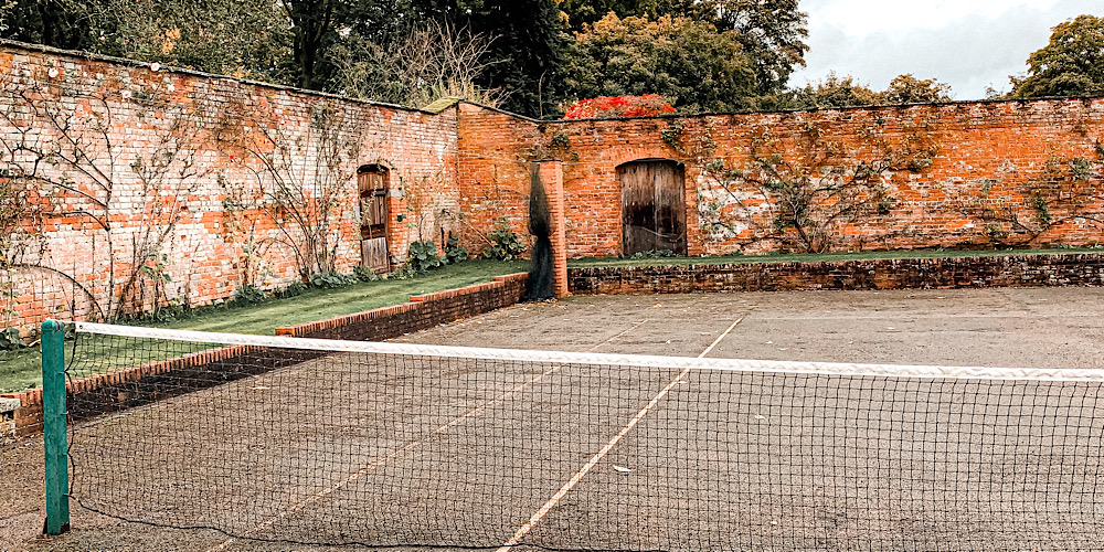 Combermere Abbey Tennis Court