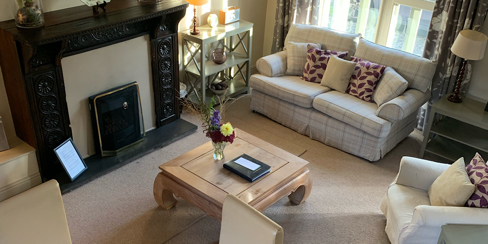Callander Cottage Lounge Area