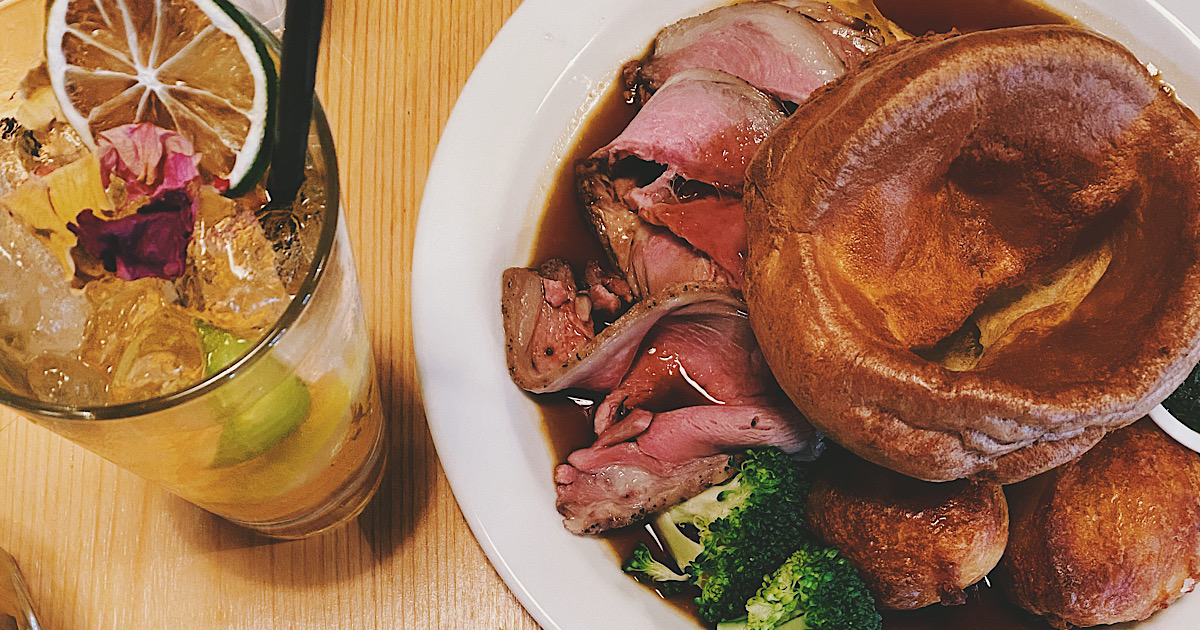 RECOMMENDATION: Seriously good Sunday lunch, Stratford 55