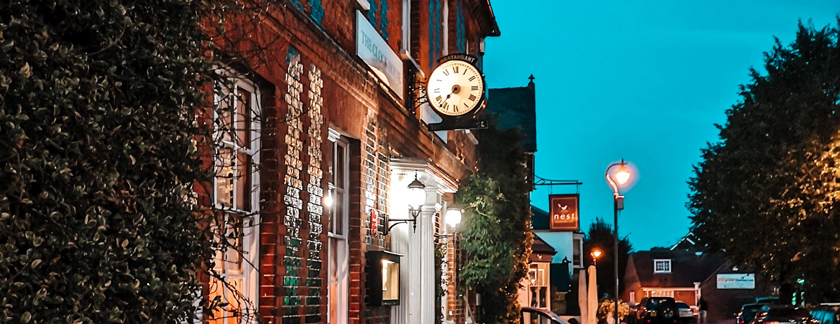 Restaurant recommendation: The Clock House, romantic fine dining in Surrey 81