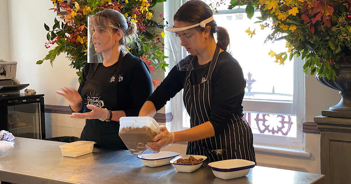 The launch of a Positively Delicious cooking workshop & food experience in Guildford - Surrey 22