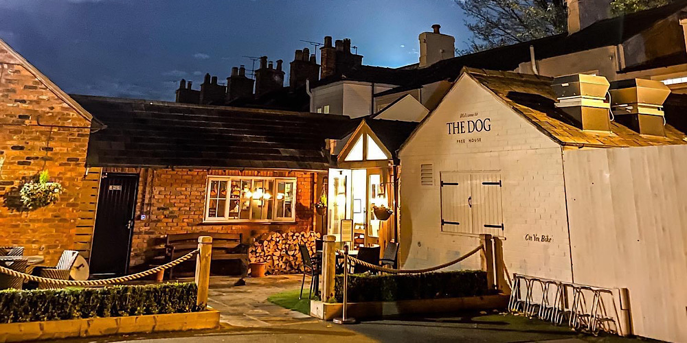 The Dog at Peover Cheshire Exterior