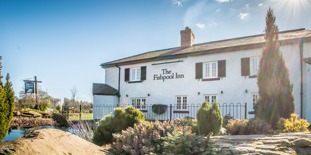 The Fishpool Inn Cheshire Exterior