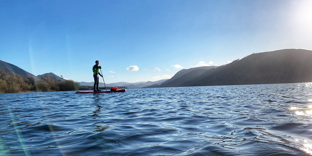Amazing Wild Swim Spots in The Lake District Bassenthwaite Paddleboard