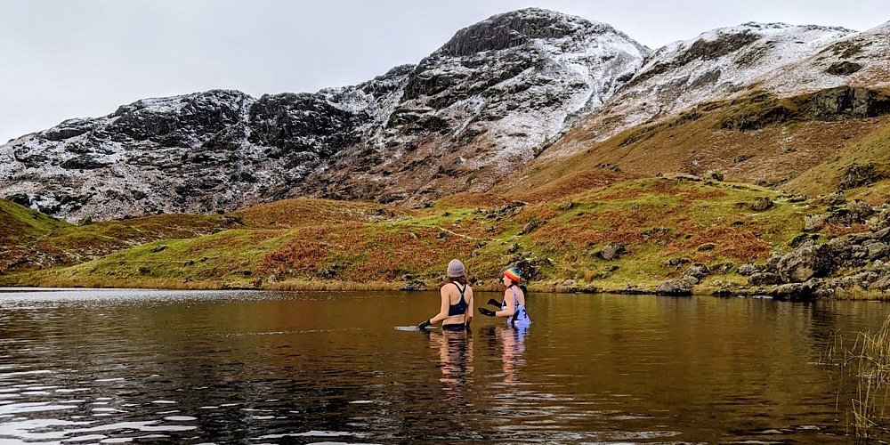 Amazing Wild Swim Spots in The Lake District Easedale Tarn