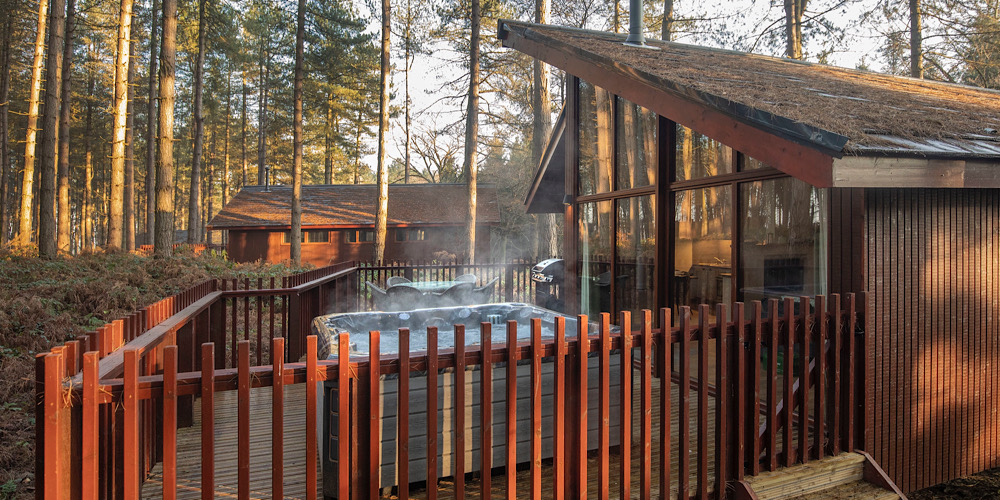 Forest Holidays Delamere Forest Hot tub