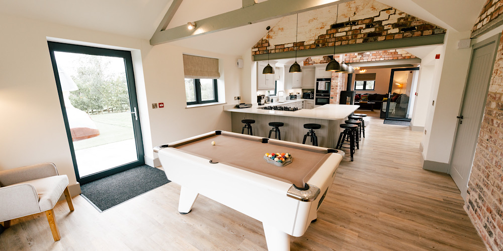 Hollies Barn Pool Table