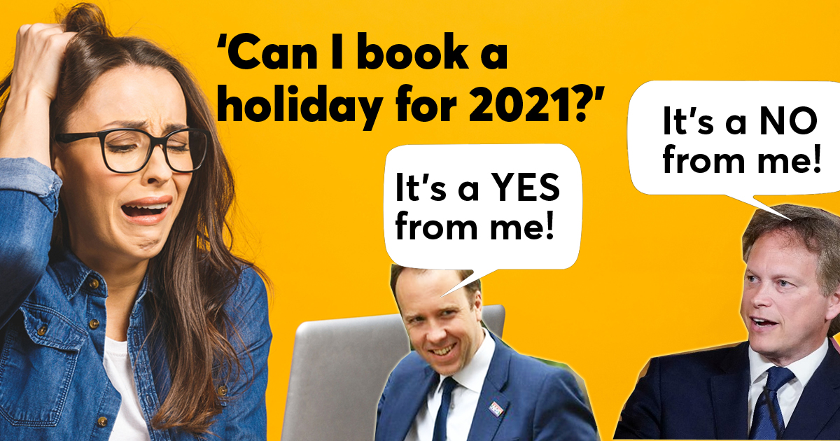 Can I book a holiday for 2021?