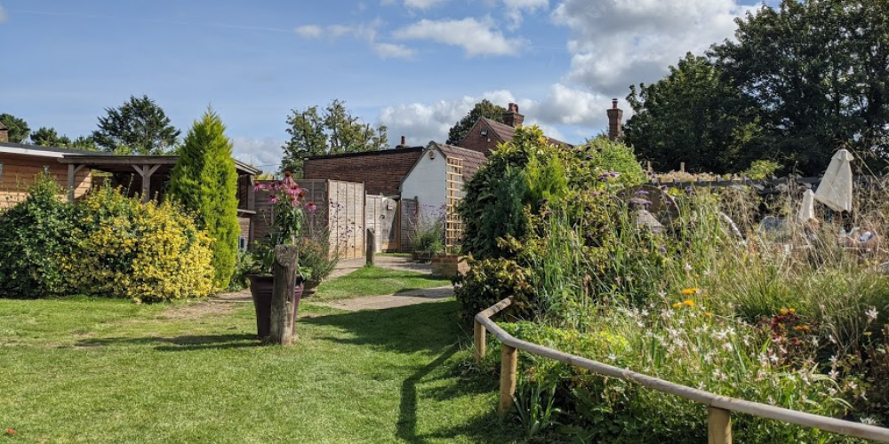 pubs with gardens in hampshire