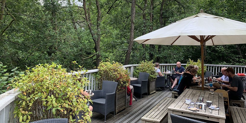 Restaurants with outdoor seating in The Lake District Chesters By The River