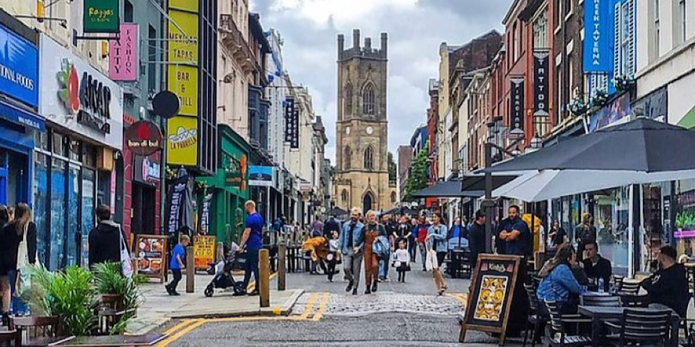 Your ULTIMATE guide to places to eat on Bold Street Liverpool