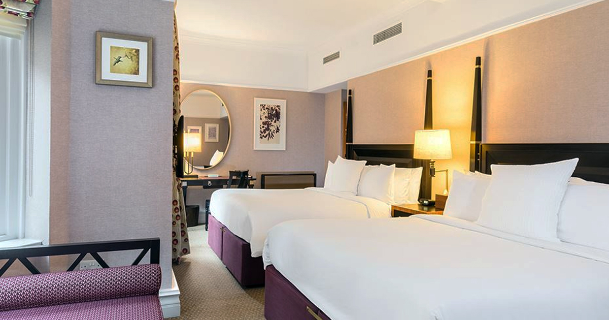 London hotels for families of 5