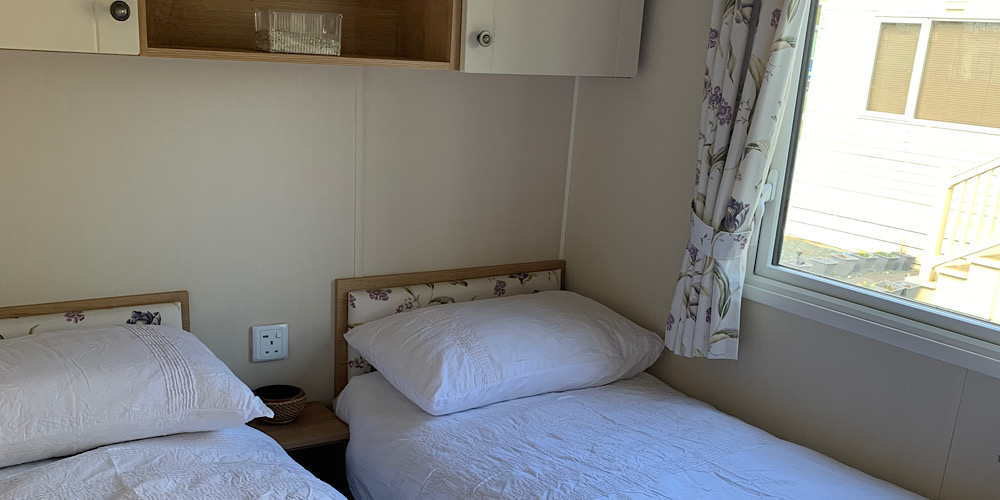 Static caravan holiday with kids