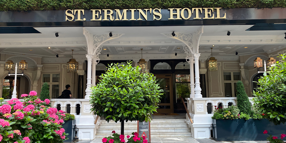 Afternoon Tea at St. Ermin's