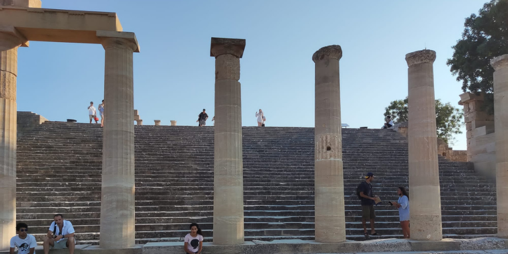 things to do in Lindos girl about leeds